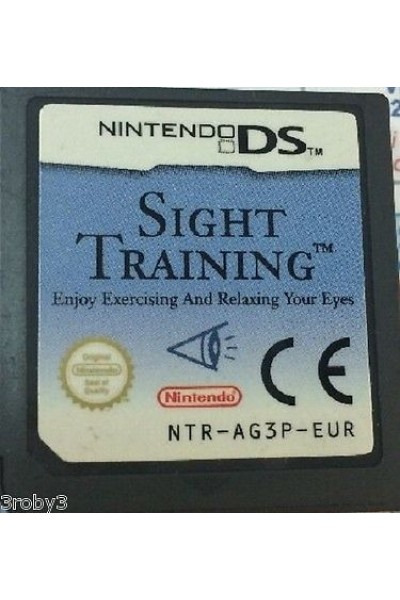NINTENDO DS SIGHT TRAINING VERSIONE PAL SOLO CARTUCCIA