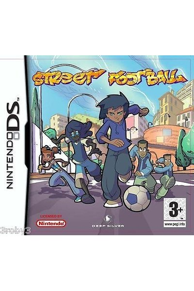 NINTENDO DS STREET FOOTBALL PAL ITALIANO SENZA MANUALE