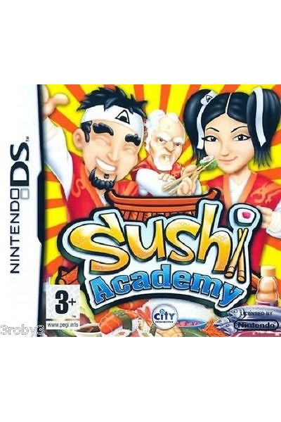NINTENDO DS SUSHI ACADEMY PAL ITALIANO COMPLETO