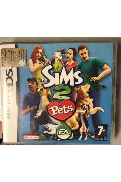 NINTENDO DS THE SIMS 2 PETS PAL ITALIANO COMPLETO