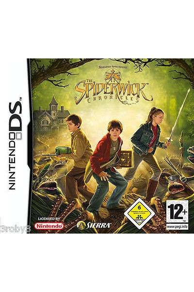 NINTENDO DS THE SPIDERWICK CHRONICLES PAL ITALIANO COMPLETO