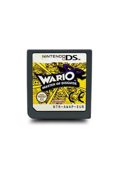 NINTENDO DS WARIO MASTER OF DISGUISE PAL ITA SOLO CARTUCCIA