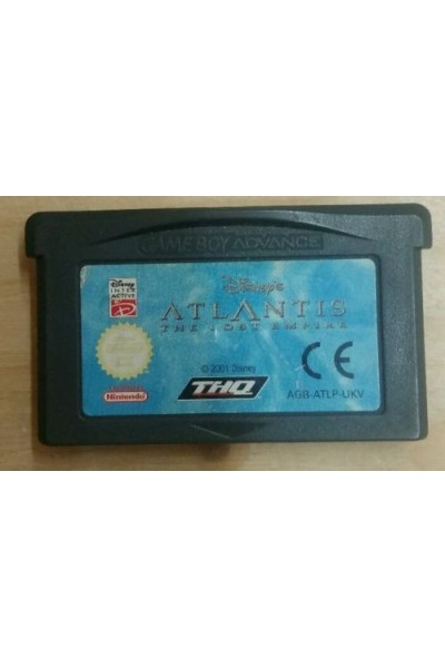 NINTENDO GAME BOY ADVANCE ATLANTIS LOST EMPIRE VERSIONE PAL LOOSE SOLO CARTUCCIA