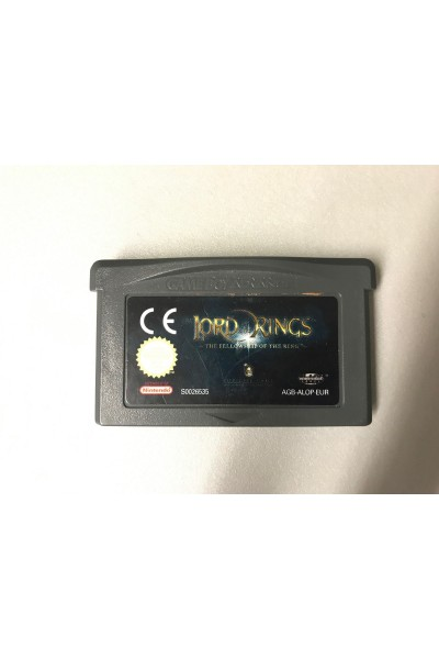 NINTENDO GAME BOY ADVANCE LORD OF THE RINGS VERSIONE PAL LOOSE SOLO CARTUCCIA