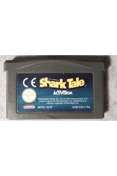 NINTENDO GAME BOY ADVANCE SHARK TALE VERSIONE PAL LOOSE SOLO CARTUCCIA