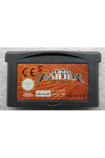 NINTENDO GAME BOY ADVANCE TOMB RAIDER VERSIONE PAL LOOSE SOLO CARTUCCIA