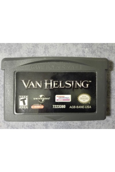 NINTENDO GAME BOY ADVANCE VAN HELSING VERSIONE USA LOOSE SOLO CARTUCCIA