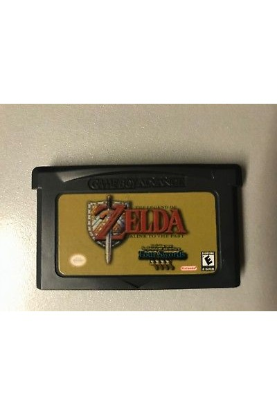 NINTENDO GAME BOY ADVANCE ZELDA LINK TO THE PAST USA SOLO CARTUCCIA LOOSE