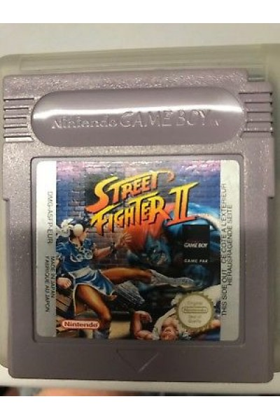 NINTENDO GAME BOY COLOR STREET FIGHTER II SOLO CARTUCCIA LOOSE RARE