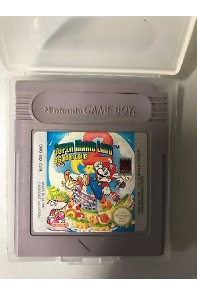 NINTENDO GAME BOY COLOR SUPER MARIO LAND 2 II PAL SOLO CARTUCCIA
