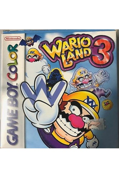 NINTENDO GAME BOY COLOR WARIO LAND 3 PAL COMPLETO