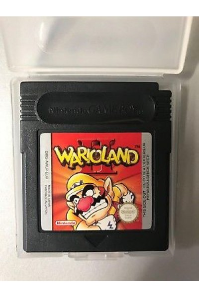 NINTENDO GAME BOY COLOR WARIO LAND WARIOLAND II 2 PAL SOLO CARTUCCIA