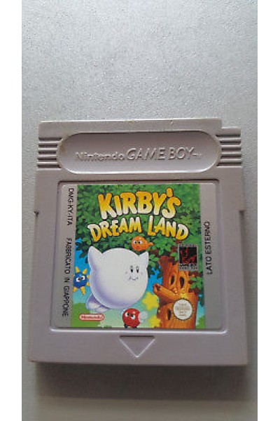 NINTENDO GAME BOY GAMEBOY COLOR KIRBY'S DREAM LAND PAL LOOSE CARTUCCIA