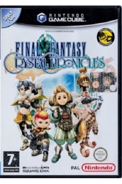 NINTENDO GAMECUBE GAME CUBE FINAL FANTASY CRYSTAL CHRONICLES PAL UK COMPLETO