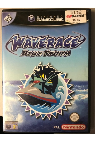 NINTENDO GAMECUBE GAME CUBE WAVERACE BLUE STORM VERSIONE PAL COMPLETO