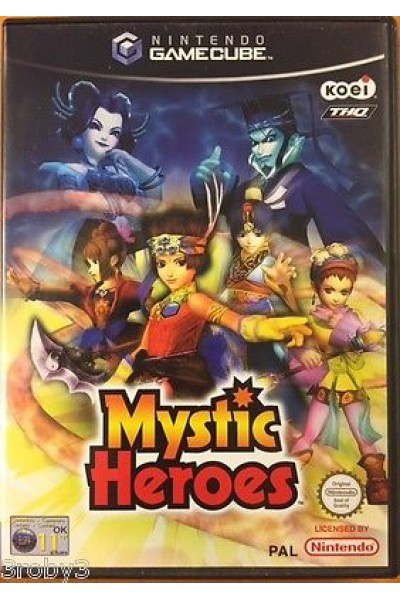 NINTENDO GAMECUBE MYSTIC HEROES PAL ITALIANO COMPLETO GC GAME CUBE
