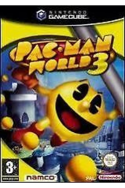 NINTENDO GAMECUBE PACMAN PAC-MAN WORLD 3 NTSC AMERICANO NEW SEALED SIGILLATO