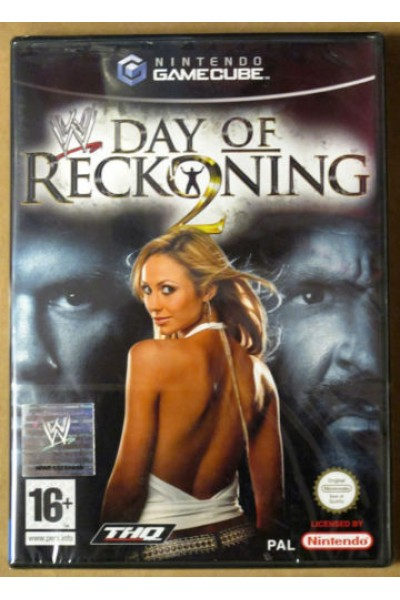 NINTENDO GAMECUBE WWE DAY OF RECKONING 2 PAL ITALIANO COMPLETO