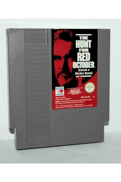 NINTENDO NES THE HUNT FOR RED OCTOBER PAL A LOOSE SOLO CARTUCCIA