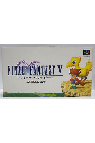 NINTENDO SUPER FAMICOM FINAL FANTASY V 5 JPN JAP IMPORT SENZA MANUALE