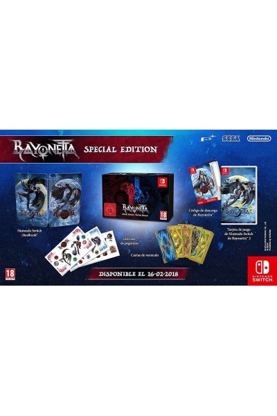 NINTENDO SWITCH BAYONETTA LIMITED COLLECTOR'S EDITION NUOVA