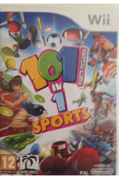 NINTENDO WII 101 IN 1 SPORTS PAL ITALIANO COMPLETO