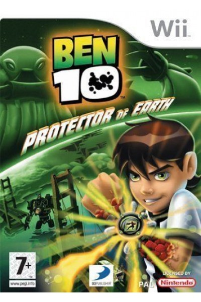 NINTENDO WII BEN 10 PROTECTOR OF EARTH PAL UK COMPLETO