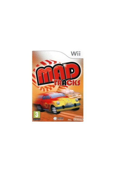 NINTENDO WII MAD TRACKS PAL ITALIANO COMPLETO