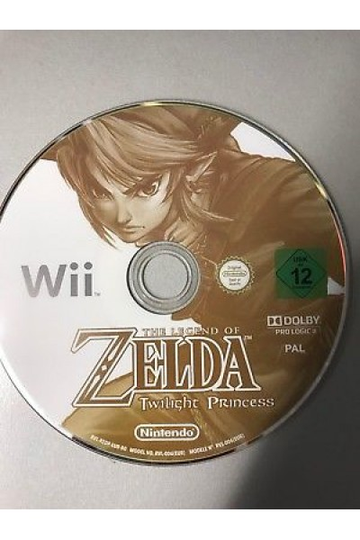NINTENDO WII THE LEGEND OF ZELDA TWILIGHT PRINCESS PAL SOLO DISCO
