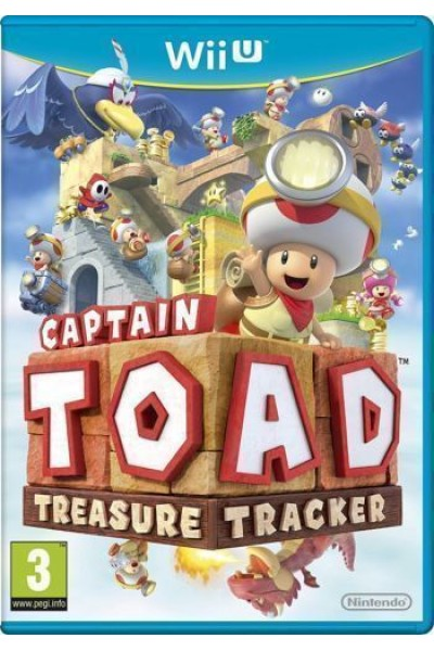 NINTENDO WII U CAPTAIN TOAD TREASURE TRACKER PAL ITALIANO