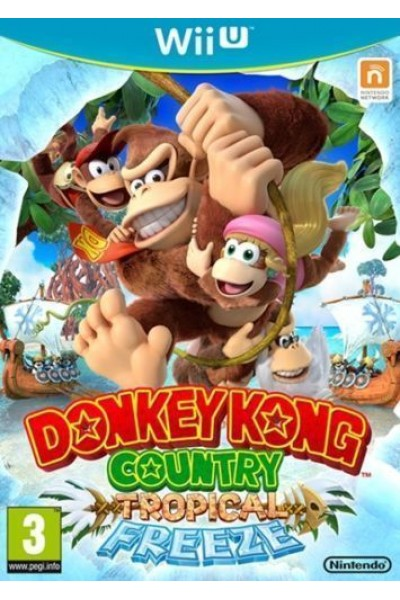 NINTENDO WII U DONKEY KONG COUNTRY TROPICAL FREEZE PAL ITALIANO