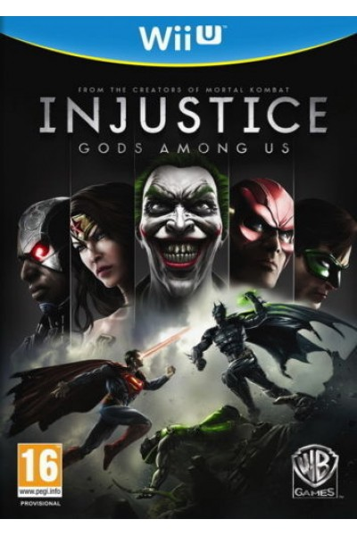 NINTENDO WII U INJUSTICE GOD AMONG US PAL ITALIANO