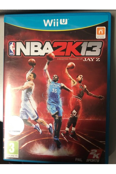 NINTENDO WII U NBA 2K13 2013 PAL UK SENZA MANUALE