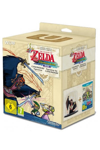 NINTENDO WII U THE LEGEND OF ZELDA WINDWAKER HD LIMITED EDITION