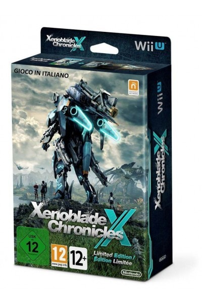 NINTENDO WII U XENOBLADE CHRONICLES LIMITED EDITION COMPLETO