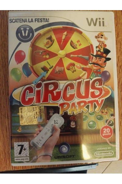 NINTENDO WII WII CIRCUS PARTY PAL ITALIANO SENZA MANUALE