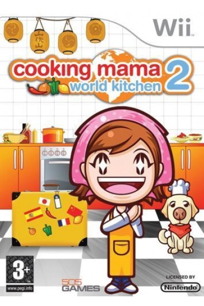NINTENDO WII WII COOKING MAMA WORLD KITCHEN 2 PAL ITALIANO COMPLETO