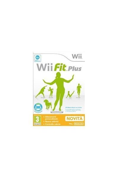 NINTENDO WII WII FIT PLUS PAL ITALIANO COMPLETO