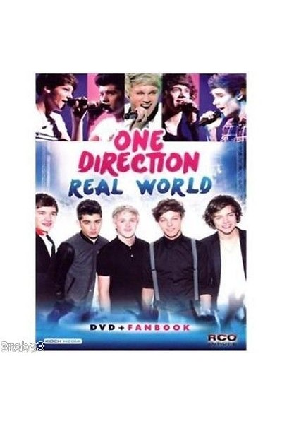 ONE DIRECTION REAL WORLD DVD NUOVO SIGILLATO