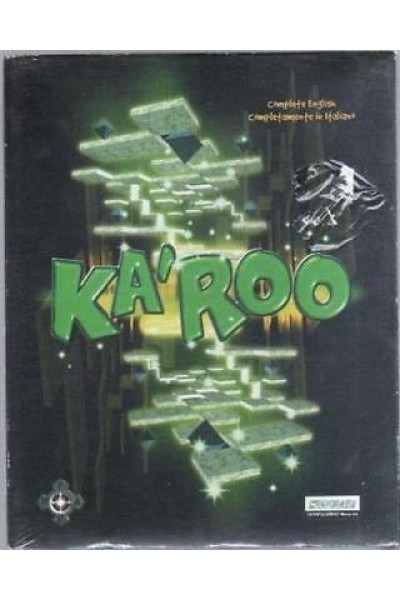 PC CD ROM BIG BOX KAROO KA'ROO VERSIONE PAL ITALIANO NUOVO SIGILLATO