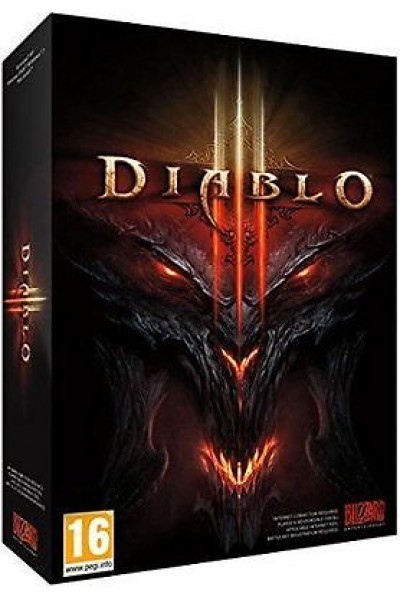 PC CD ROM DIABLO III 3 PAL ITALIANO CARTONATO