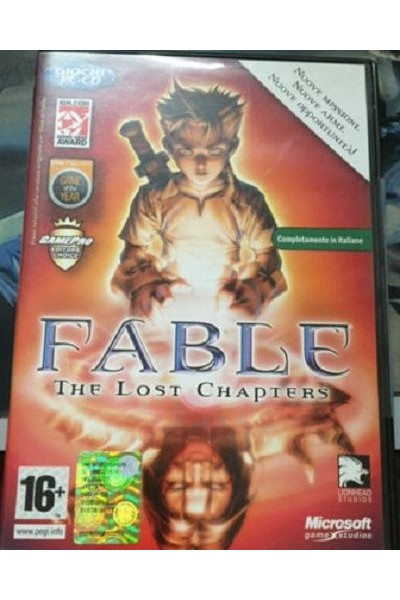PC CD ROM FABLE THE LOST CHAPTERS PAL ITALIANO COMPLETO