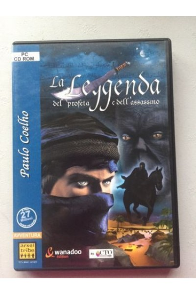 PC CD ROM LA LEGGENDA DEL PROFETA E DELL'ASSASSINO PAL ITALIANO COMPLETO