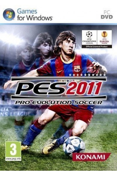 PC CD ROM PES 2011 PRO EVOLUTION SOCCER PAL ITALIANO COMPLETO