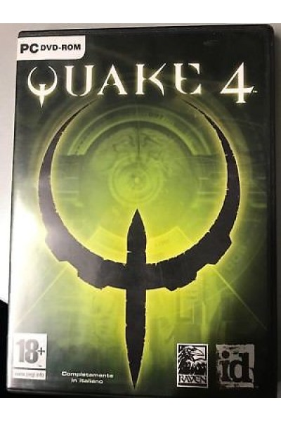PC CD ROM QUAKE 4 PAL ITALIANO COMPLETO