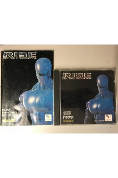 PC CD ROM RISE OF THE ROBOTS SOLO CD E MANUALE
