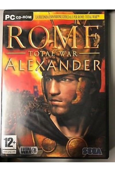 PC CD ROM ROME TOTAL WAR ALEXANDER PAL ITALIANO COMPLETO
