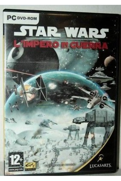 PC CD ROM STAR WARS L'IMPERO IN GUERRA PAL ITALIANO COMPLETO