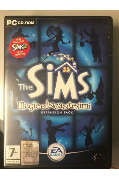 PC CD ROM THE SIMS MAGIE E INCANTESIMI EXPANSION PACK PAL ITALIANO COMPLETO