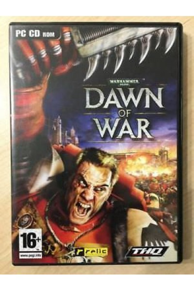 PC CD ROM WARHAMMER DAWN OF WAR PAL ITALIANO COMPLETO